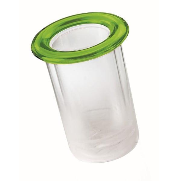 Zelený termo držák na lahev Fratelli Guzzini Mimi