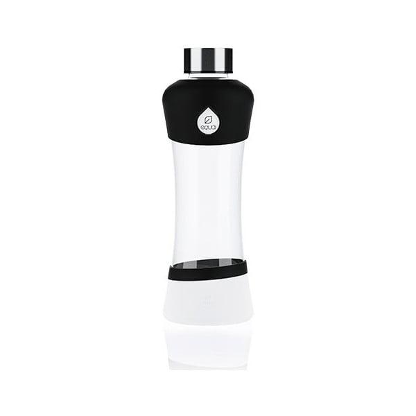 Skleněná lahev Equa Active Black, 0,55 l
