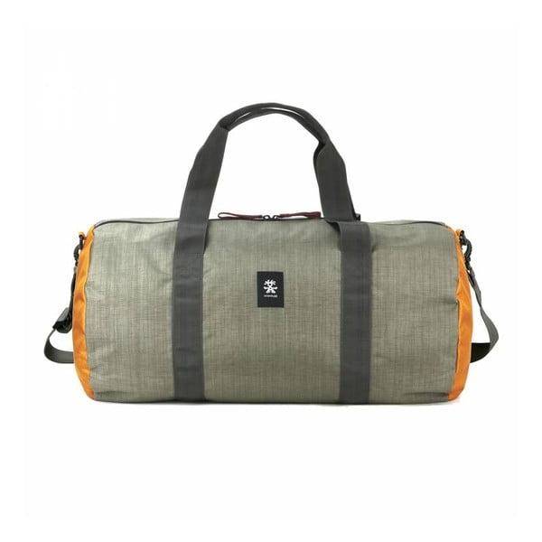 Cestovní taška Dinky Di Duffel M, khaki/oranžová