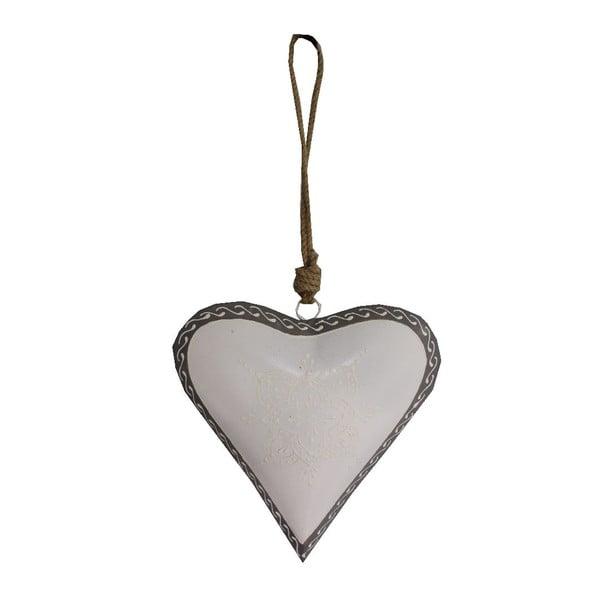 Light Heart szív alakú függődísz, 20 cm - Antic Line