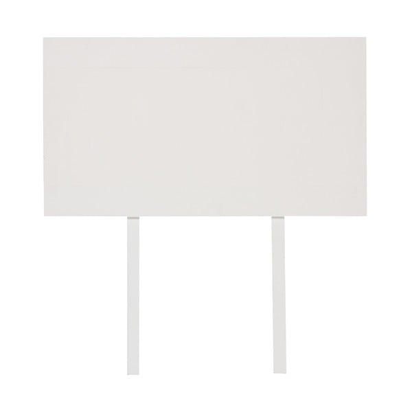 Přídavná deska ke stolu Idallia White 180x90 cm