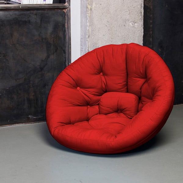 Rozkládací křesílko Karup Nest Red