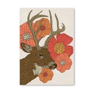 Autorský plakát My Dear Deer od Valentiny Ramos