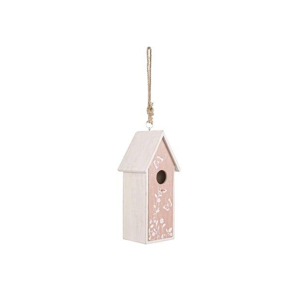 Ptačí budka Home, růžová