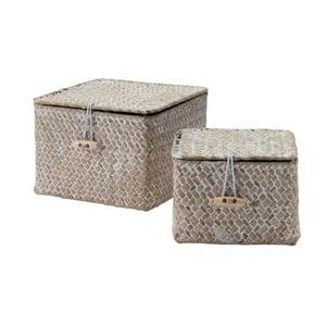 Set 2 cutii pentru depozitare Compactor Lidwhite