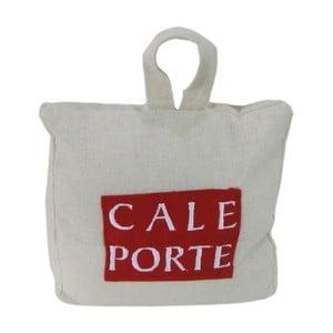 Bílo-červená zarážka do dveří Antic Line Cale Porte
