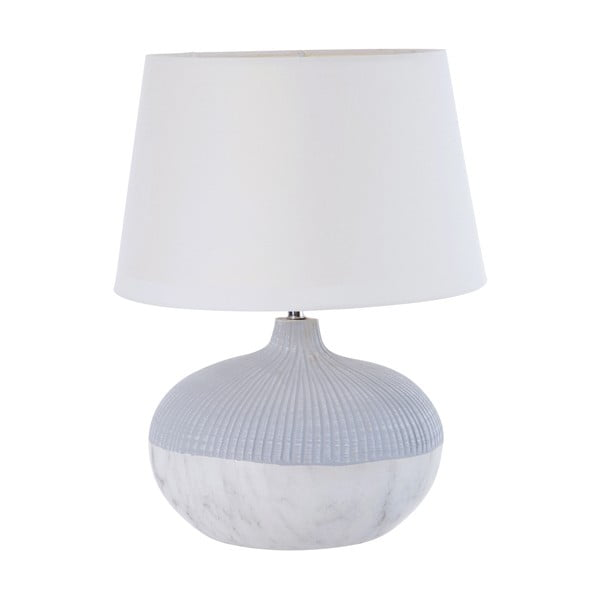 Stolní lampa Marble Look Grey