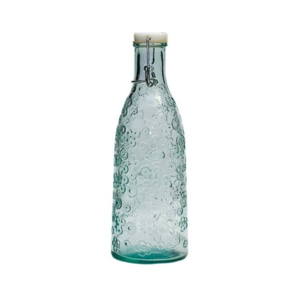 Sklenená fľaša Ego Dekor Flora, 950 ml