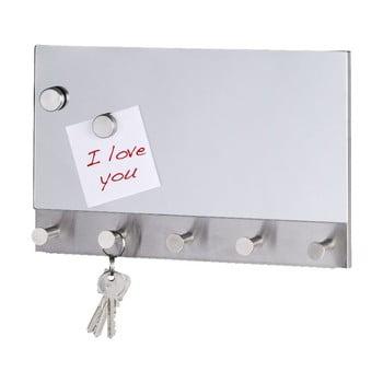 Cuier magnetic pentru haine/chei Wenko Mirror Long, 30 x 19 cm de la Wenko