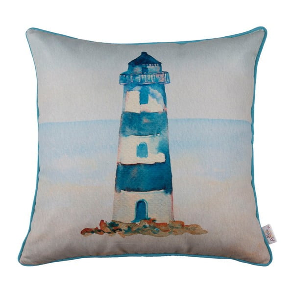 Față de pernă Apolena Blue Lighthouse 43 x 43 cm