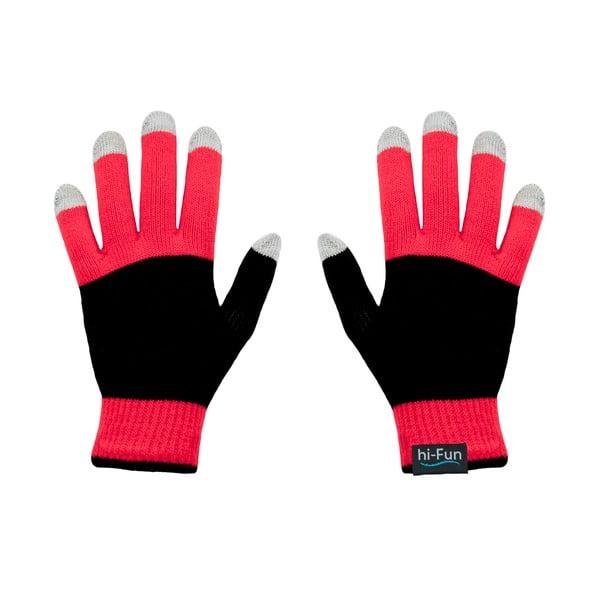 Hi-Glove Rukavice na dotykové displeje, červená