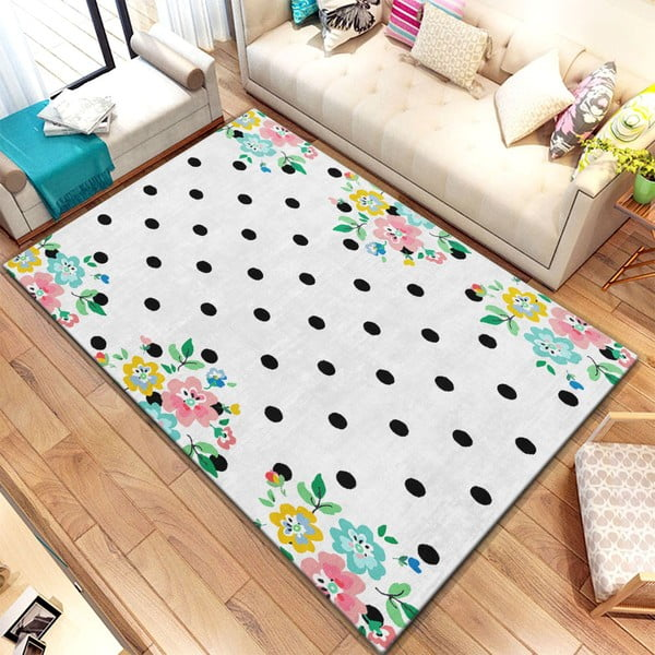 Koberec Homefesto Digital Carpets Dots, 80 x 140 cm