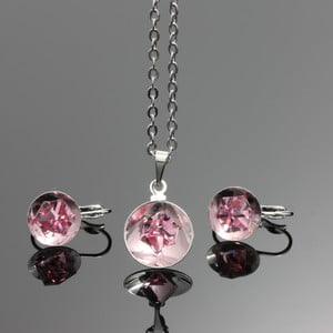Set Swarovski Elements Bijouterie Rosa