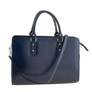 Modrá kožená kabelka Ore Diece Taranto