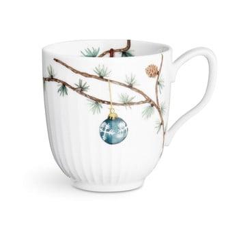 Cană din porțelan pentru Crăciun Kähler Design Hammershoi Christmas Mug, 330 ml
