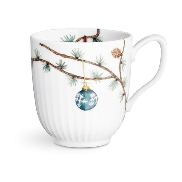 Porcelánový vánoční hrnek Kähler Design Hammershoi Christmas Mug, 330 ml