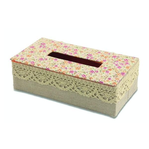 Krabička na kapesníky Flora Arancia