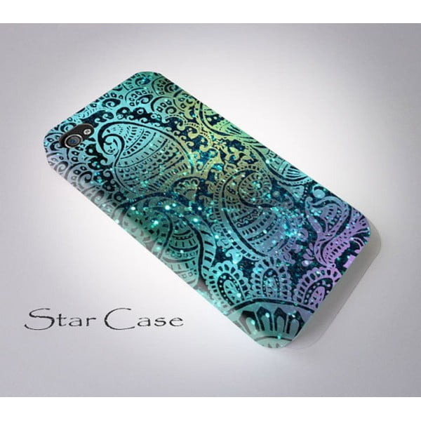 Obal na iPhone 5/5S Glitter Blue