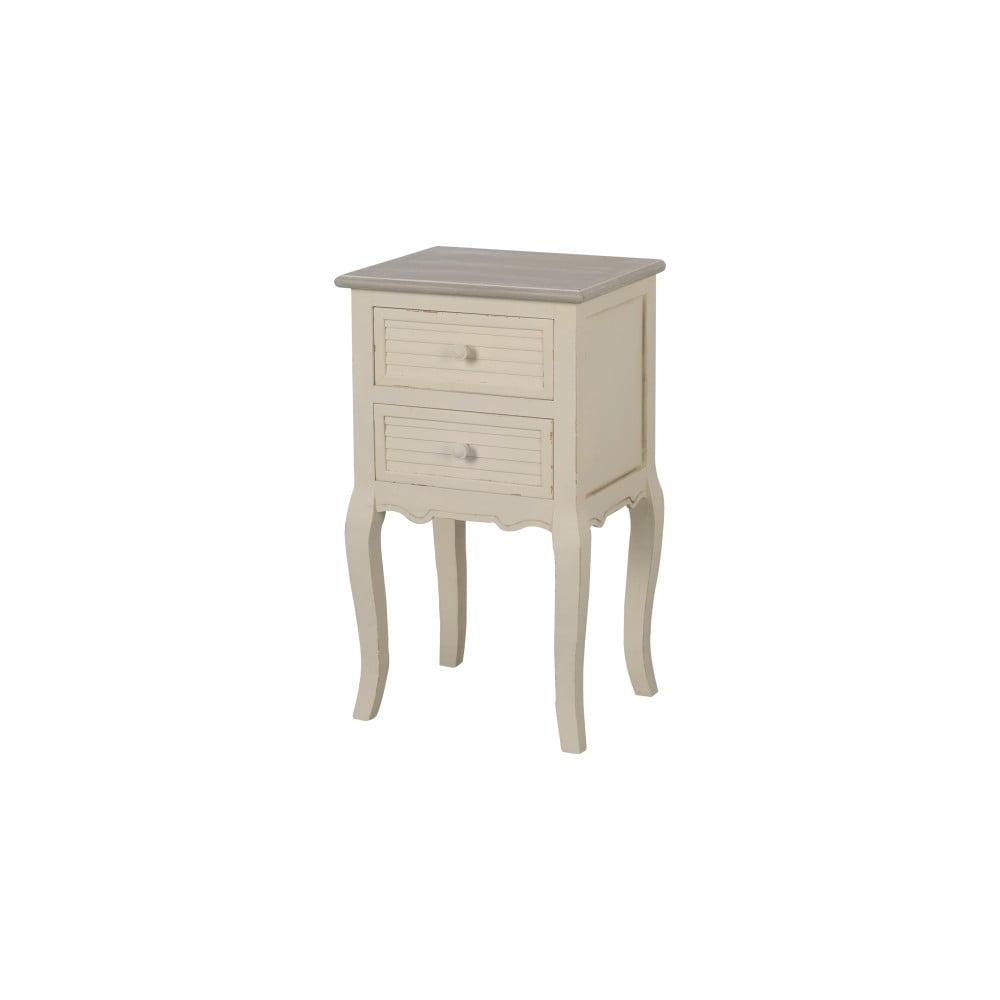 Noční stolek z topolového dřeva Livin Hill Pesaro