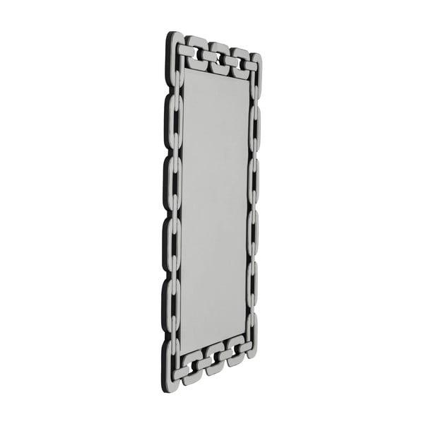 Nástěnné zrcadlo Kare Design Chain, 109x78cm