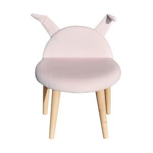 Stolička Happy Barok Animals , růžová