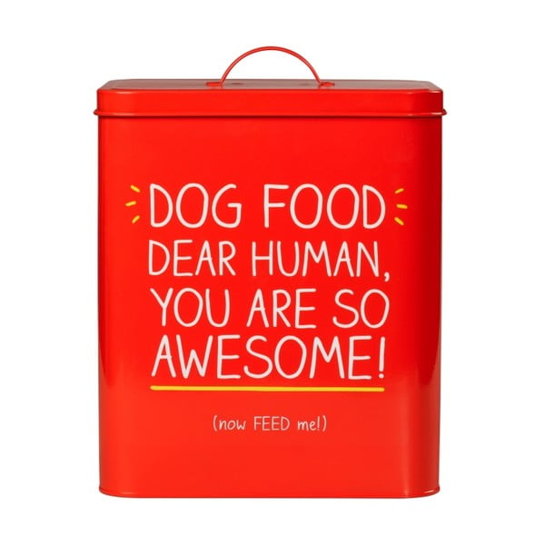 Dóza na zvířecí pamlsky Happy Jackson Dog Food