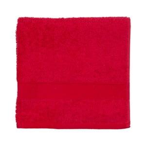 Červený froté ručník Walra Frottier, 50x100cm
