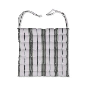 Pernă pentru scaun Garden Trading Green Stripe, 40 x 40 cm