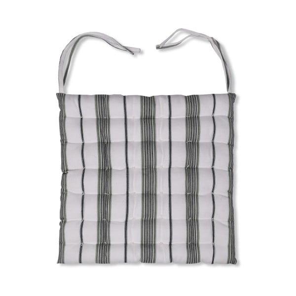 Poduszka na krzesło Garden Trading Green Stripe, 40x40 cm