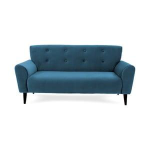 Canapea cu 3 locuri Vivonita Kiara Aqua, albastru