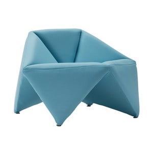 Fotoliu Softline Fold, albastru