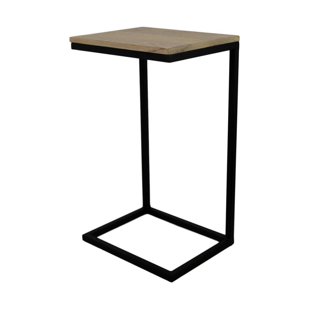 Odkládací stolek z mangového dřeva HSM collection Read
