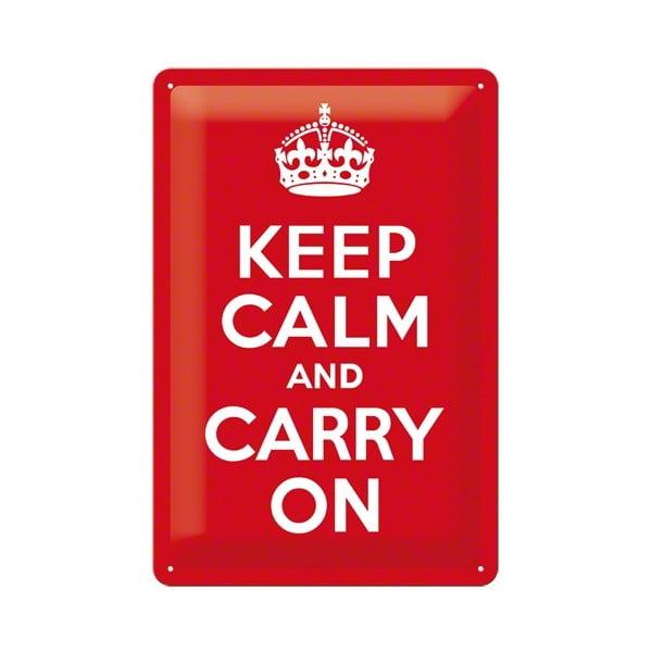 Cedule Keep Calm, 20x30 cm