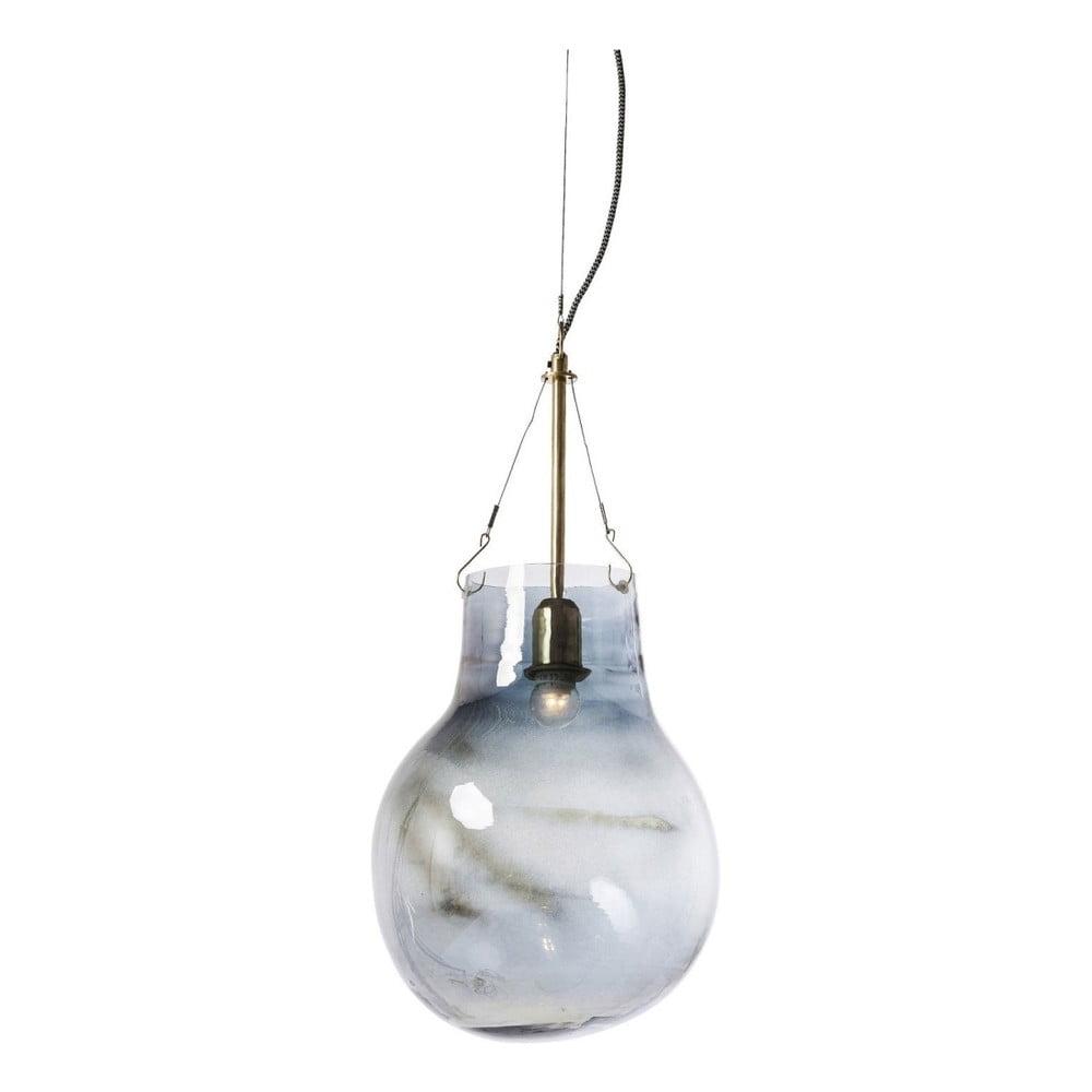 Modré stropní svítidlo Kare Design Dusty Bell