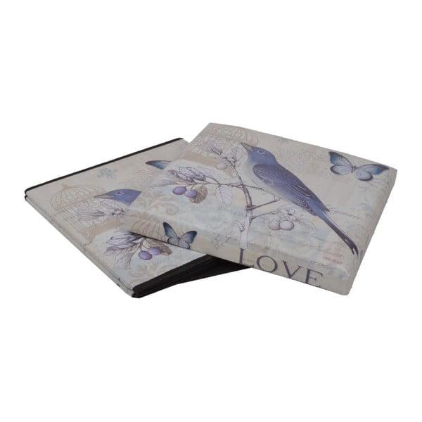 Skládací Puf Bird, 37x37 cm