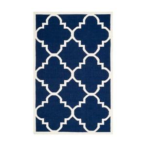 Covor de lână Safavieh Alameda, 152 x 243 cm, albastru