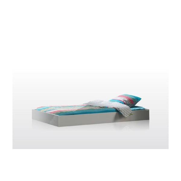 Biała szuflada łóżko Lara Vipack