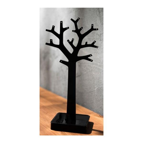 Černý organizér na šperky ve tvaru stromu Compactor