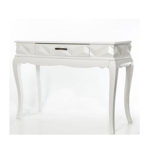 Konzolový stolek Pyramid White, 113x41x81 cm