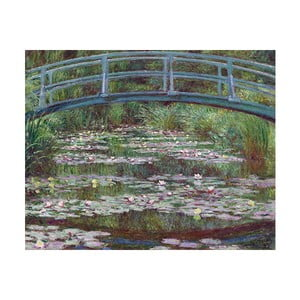 Tablou Claude Monet - The Japanese Footbridge, 50x40 cm