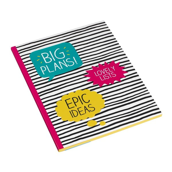 Velký sešit Happy Jackson Big Plans