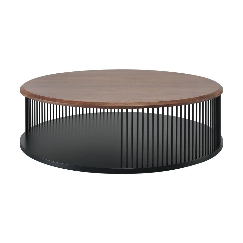 Konferenční stolek s deskou z ořechové dýhy Wewood - Portuguese Joinery Memória