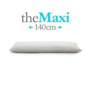 Polštář The Maxi, bílý, vhodný pro osoby do 183 cm