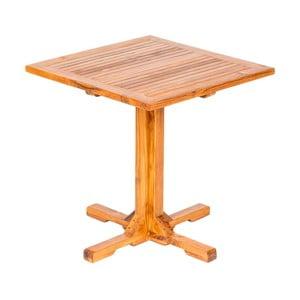 Zahradní stůl s deskou z teakového dřeva Massive Home Ravenna, šířka75cm