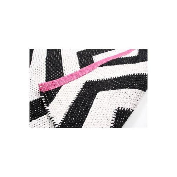 Koberec Pink B&W, 60x90 cm