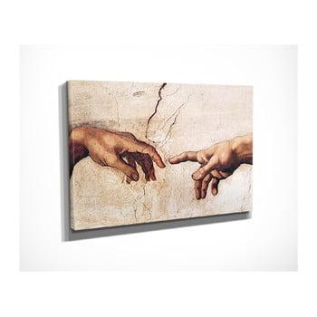 Reproducere tablou pe pânză Michelangelo, 40 x 30 cm