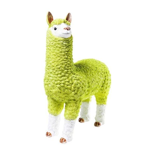 Pușculiță în formă de lama Kare Design Alpaca, 62 cm, verde lime