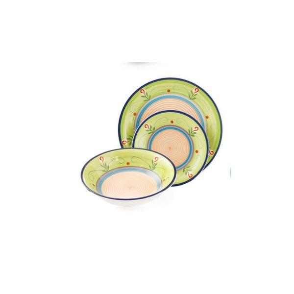 Hluboký talíř Maiorca zelený, 20 cm