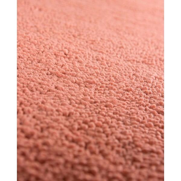 Vlněný koberec Pradera, 140x200 cm, lososový