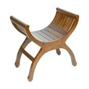Stolička ze dřeva mindi a ořešáku SantiagoPons Yuyu